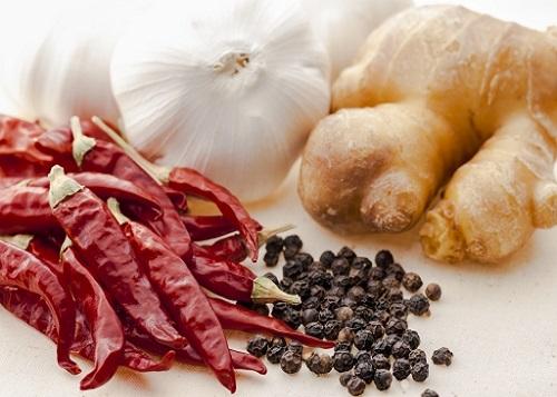 体を温める香辛料
