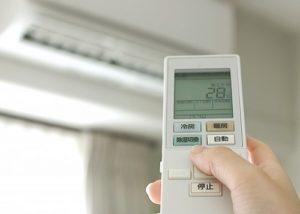 冷房の温度設定