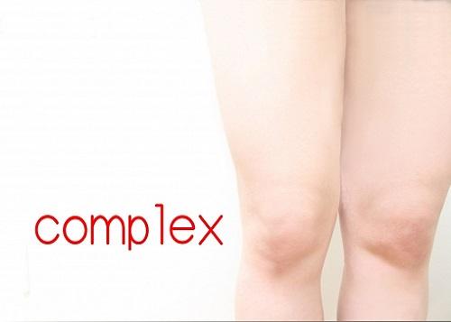 太い足がコンプレックス