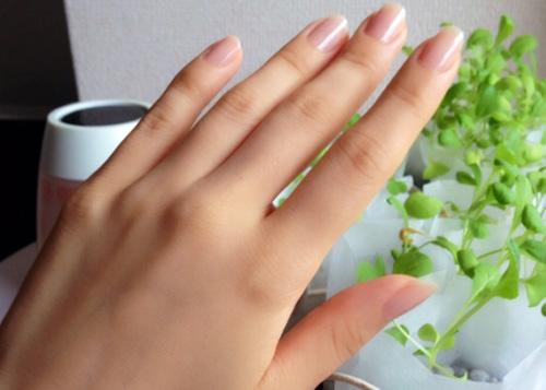 手入れのされた爪