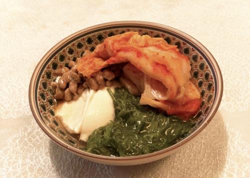 めかぶ納豆キムチ