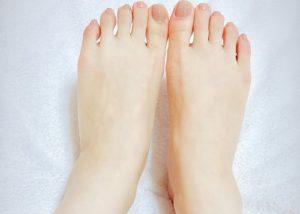全身脱毛 脚の指の画像