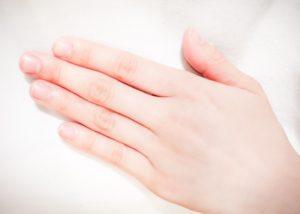 手の指の画像
